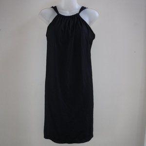 Athleta Kokomo Black High Neck Sun Swim Dress